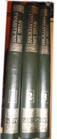 ENCICLOPEDIA DEL SELLO (3 tomos OBRA COMPLETA) Ilustraciones color: FLUVIO APOLLONIO -ROBERTO ...