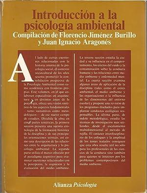 INTRODUCCION A LA PSICOLOGIA AMBIENTAL: Compilación de FLORENCIO JIMENEZ BURILLO- JUAN IGNACIO ...