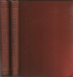 LA PRIMA BELA Novela (OBRA COMPLETA en 2 tomos) Colecc Universal 202-203 -Edición de lujo en...
