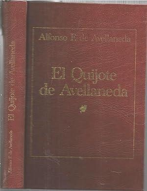 EL QUIJOTE DE AVELLANEDA: ALFONSO DE AVELLANEDA