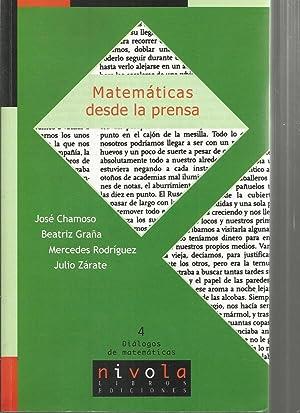 MATEMATICAS DESDE LA PRENSA: JOSE CHAMOSO-BEATRIZ GRAÑA-MERCEDES