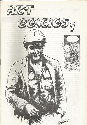 ART COMICS 1 (Primer fanzine comic alternativo: Editor MARIO AYUSO