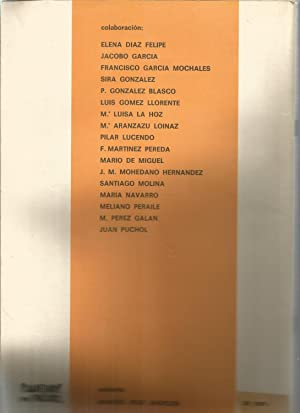 CUADERNOS PARA EL DIALOGO (XVI EXTRAORDINARIO Revista: ELENA DIAZ FELIPE-JACOBO