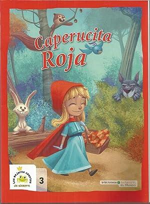 CAPERUCITA ROJA (Biblioteca infantil El Mundo- Los: PERRAULT -Adaptación Editorial