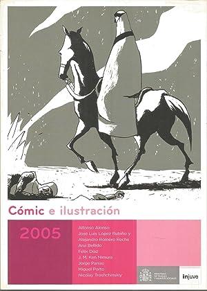 COMIC E ILUSTRACION 2005 -Catálogo exposición Sala: ALFONSO ALONSO-JOSE LUIS
