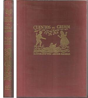 CUENTOS DE GRIMM- 3ªEDICION -Ilustrado con láminas: GRIMM trad Mª