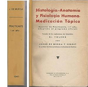 HISTOLOGIA ANATOMIA Y FISIOLOGIA HUMANA -MEDICACION TOPICA: Tomadas de las