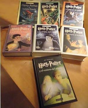HARRY POTTER COMPLETO 7 Libros (La piedra: ROWLING