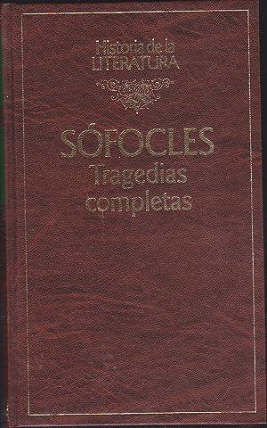 TRAGEDIAS COMPLETAS (Historia de la Literatura): SOFOCLES