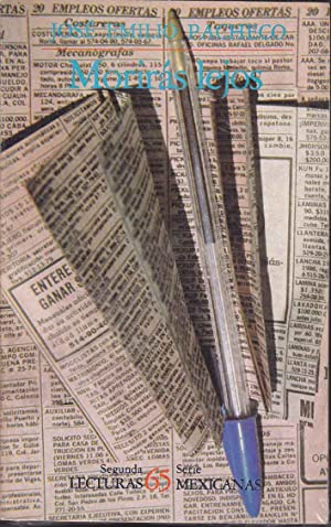 MORIRAS LEJOS (Con dedicatoria y firma del autor) 1ª EDICION novela: JOSE EMILIO PACHECO