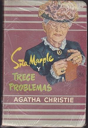 SEÑORITA MARPLE Y TRECE PROBLEMAS (Bibliot Oro)Plata/grana: AGATHA CHRISTIE