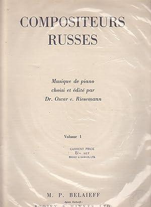 COMPOSITEURS RUSSES Musique de Piano choisi et: AKIMENKO-ARTEIBOUCHEFF-AMANI-BARMOTINE-BLUMEENFELD-BORODINE-GLAZOWNOW-LIADOW-MOUSSORGSKY-RIMSKY KORSAKOW-SCRIABINE-STCHERBATCHEFF