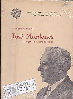 ALAVESES CELEBRES. JOSE MARDONES EL MEJOR BAJO-CANTANTE DEL MUNDO.: VENANCIO DEL VAL