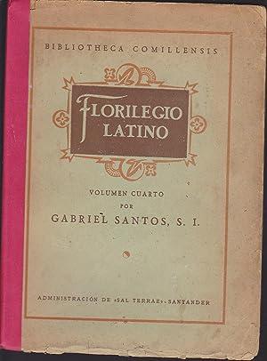 FLORILEGIO LATINO Volumen Cuatro (Historiadores SALUSTIO, TITO LIVIO, TACITO -Pensadores PLINIO EL ...