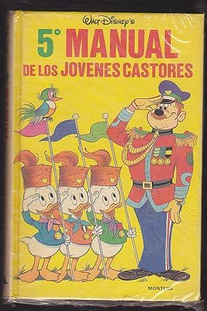 5º MANUAL DE LOS JOVENES CASTORES - MANUAL DEL GRAN MOGOL (Manuales Disney): WALT DISNEY