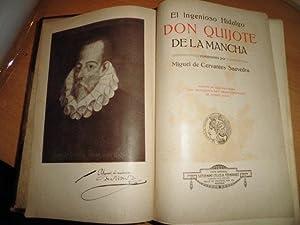 EL INGENIOSO HIDALGO DON QUIJOTE DE LA MANCHA (Edición de lujo ilustrada con 310 dibujos ...