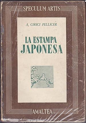 LA ESTAMPA JAPONESA (Colecc Speculum Artis dirigida por RAFOLS): CIRICI PELLICER