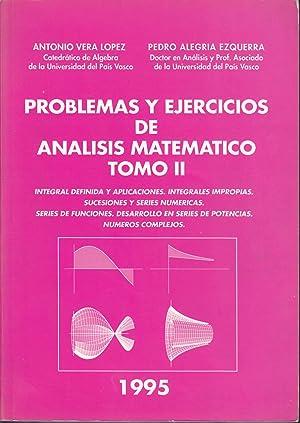 PROBLEMAS Y EJERCICIOS DE ANALISIS MATEMATICO TOMO: ANTONIO VERA LOPEZ
