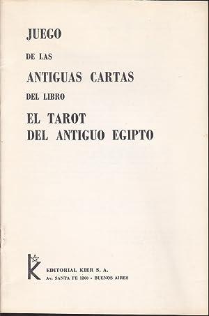 EL TAROT DEL ANTIGUO EGIPTO Simbolismo mágico y claves para su interpretación -...