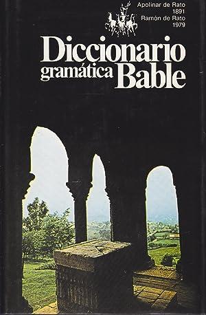 DICCIONARIO DE GRAMATICA BABLE Vocabulario de las palabras y frases bables que se hablaron ...