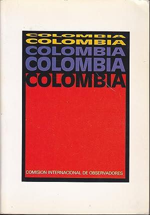COLOMBIA Ilustrado con fotos b/n: COMISION INTERNACIONAL PERMANENTE DE OBSERVADORES PARA ...