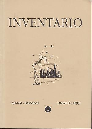 INVENTARIO 1 Otoño de 1993- Cuatrimestral (: IGNACIO GOMEZ DE