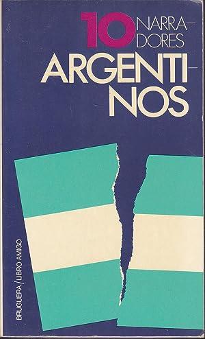 10 NARRADORES ARGENTINOS (Diez narradores argentinos) 13: HAROLDO CONTI-ANTONIO DE