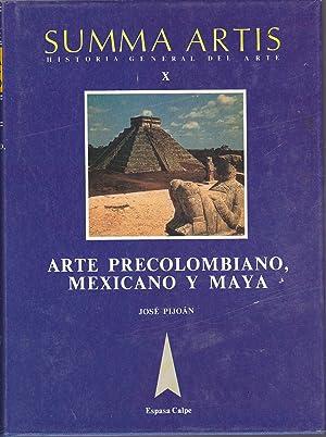 SUMMA ARTIS-HISTORIA GENERAL DEL ARTE X-ARTE PRECOLOMBIANO: JOSE PIJOAN