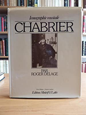 CHABRIER, Iconographie musicale