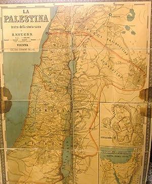 La Palestina teatro della Storia Sacra.: KOZENN BLASIUS.
