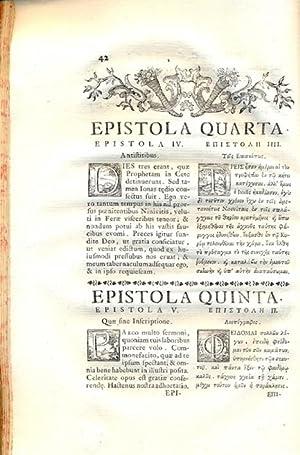 Sancti Patris Nostri Gregorii Episcopi Nyssae Epistolae Septem Primo latine vertit, e edit ...