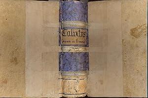 Calixti Placentini canonici regularis lateranensis, Piisimae Simul: CALIXTI PLACENTINI.