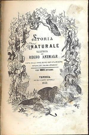 Storia naturale illustrata del Regno Animale tratta: AA.VV.