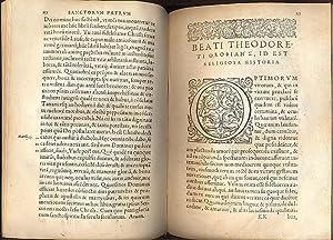 Palladii Divi Evagrii discipuli lausiaca quae dicitur: PALLADII DIVI EVAGRII.