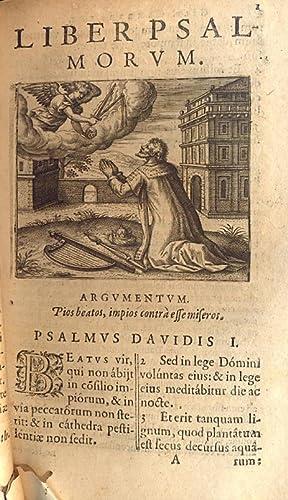 Psalmi Davidis, Vulgata editione. Calendario Hebraeo, Syro,: GENEBRARDO GILB.
