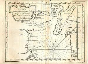 Atlante dell'America contenente le migliori carte geografiche: Carta rappresentante una parte ...