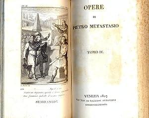 Opere.: METASTASIO.