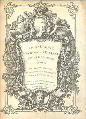 Le Gallerie Nazionali italiane. Notizie e documenti.: AA.VV.