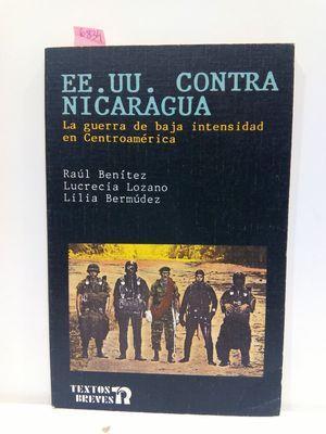 EE UU CONTRA NICARAGUA: LOZANO, LUCRECIA; BERMÚDEZ,