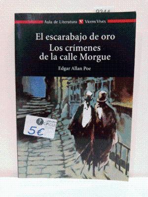 EL ESCARABAJO DE ORO LOS CRIMENES DE: POE, EDGAR ALLAN