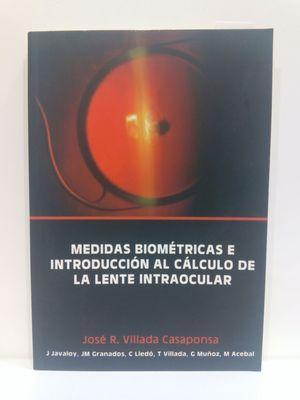 MEDIDAS BIOMETRICAS E INTRODUCCION AL CALCULO DE: JOSÉ R. VILLADA