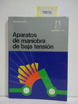 APARATOS DE MANIOBRA DE BAJA TENSIÓN: SCHMELCHER, THEODOR