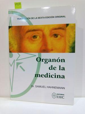 ORGANÓN DE LA MEDICINA: HAHNEMANN, SAMUEL