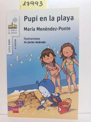 PUPI EN LA PLAYA: MENÉNDEZ-PONTE, MARÍA