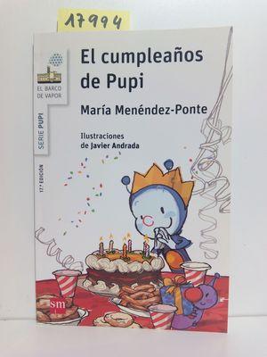 EL CUMPLEAÑOS DE PUPI: MENÉNDEZ-PONTE, MARÍA