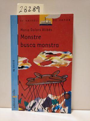 MONSTRE BUSCA MONSTRA: ALIBÉS, MARIA DOLORS