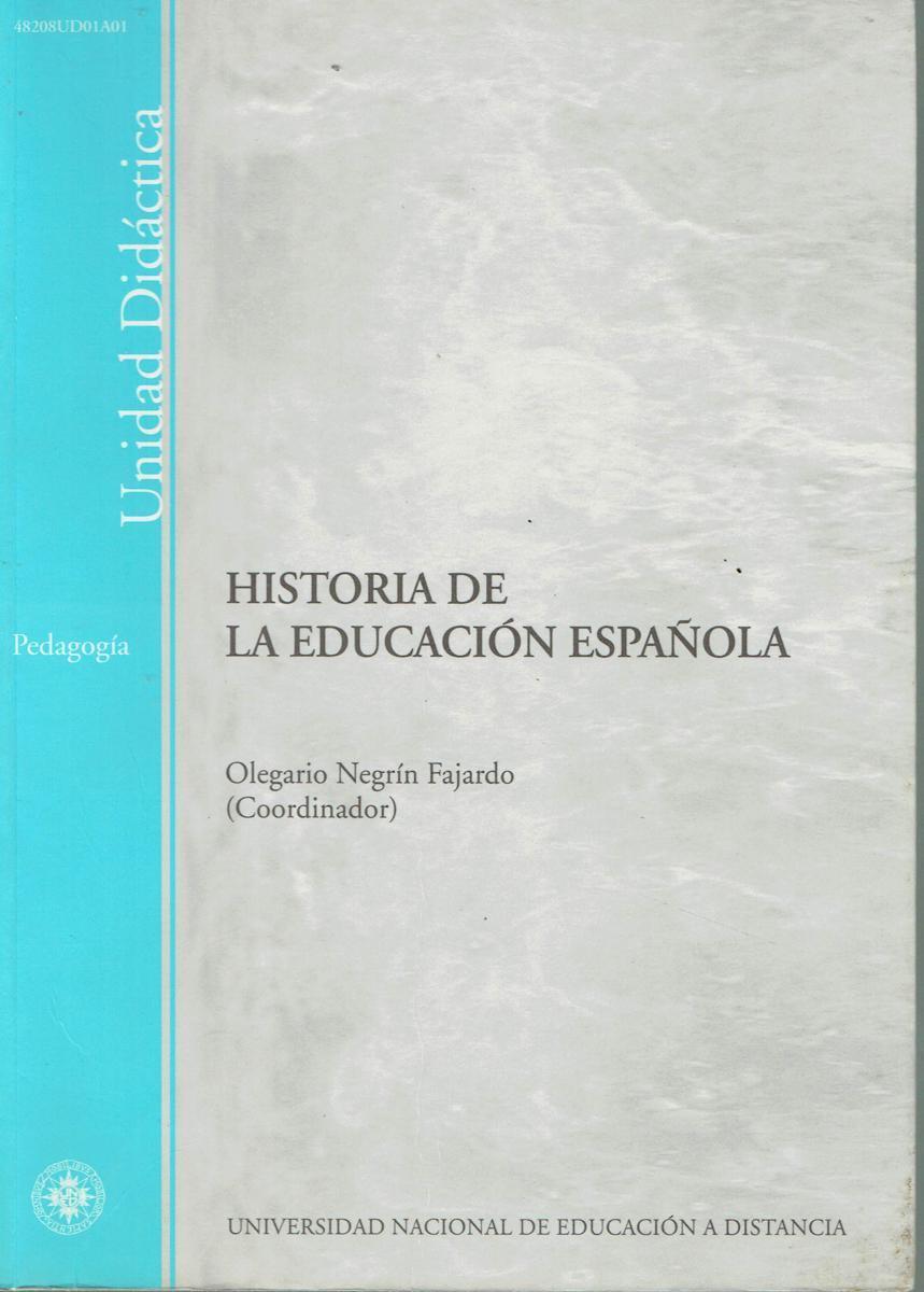Historia De La Educacion Espanola