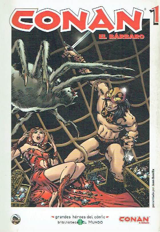 Conan el bárbaro, 1. de Roy Thomas (guión) y Barry Smith (dibujo ...