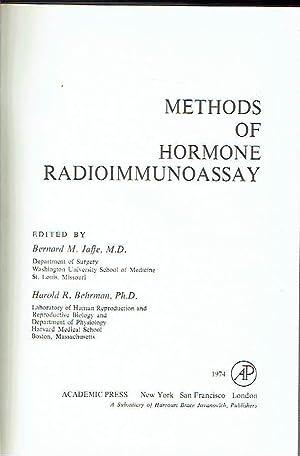 Methods of hormone radioimmunoassay.: Bernard M. Jaffe