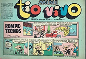 Mini Tio Vivo, nº 13. Revista Juvenil.